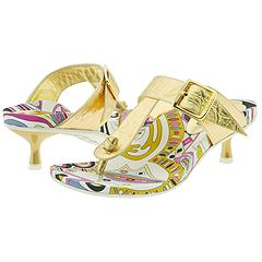 Pucci 753566  Gold Calf       Manolo Likes!  Click!