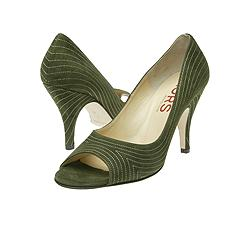 KORS by Michael Kors - Chagall (Olive Suede/Ecru Stitch)  Manolo Likes!  Click!