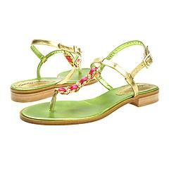 Beverly Feldman - Charmer Sneaker (Gold Lizard)   Manolo Likes!   Click!