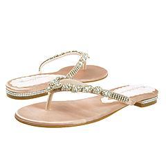 Beverly Feldman - Tiffany Flat Sandal    Manolo Likes!  Click!