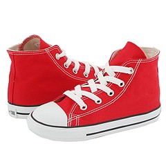 Chuck Taylor® All Star® Core Hi (Infant/Toddler) by Converse Kids at Zappos.com