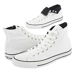 Converse Chuck Taylor All-Stars Roll Down Hi    Manolo Likes!  Click!