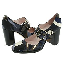 Chunky Heel Pucci Shoes   Manolo Likes!  Click!