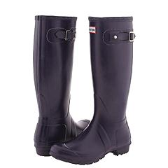 Hunter Original Rain Boots in Aubergine