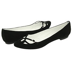 Sigerson Morrison Suede Skimmers.  Manolo Likes!  Click!