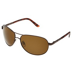 SunCloud Polarized Optics - Aviator Polarized (Brown/Brown Polarized Lens) - Eyewear