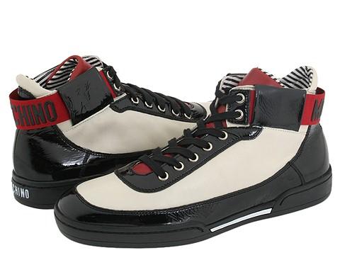 Moschino - 55353 2500242-02 (White High Top) - Footwear