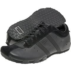 Black diesel shoes for men