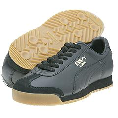 What Parts Are Leather On The Puma Roma Shoe