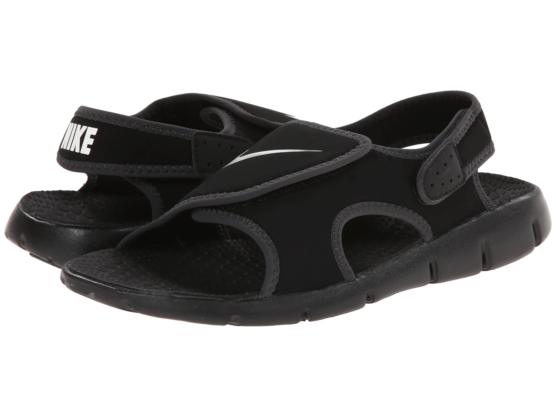 83e296011b4 ... Shoes - Black Anthracite White  toddler boy nike sandals ...