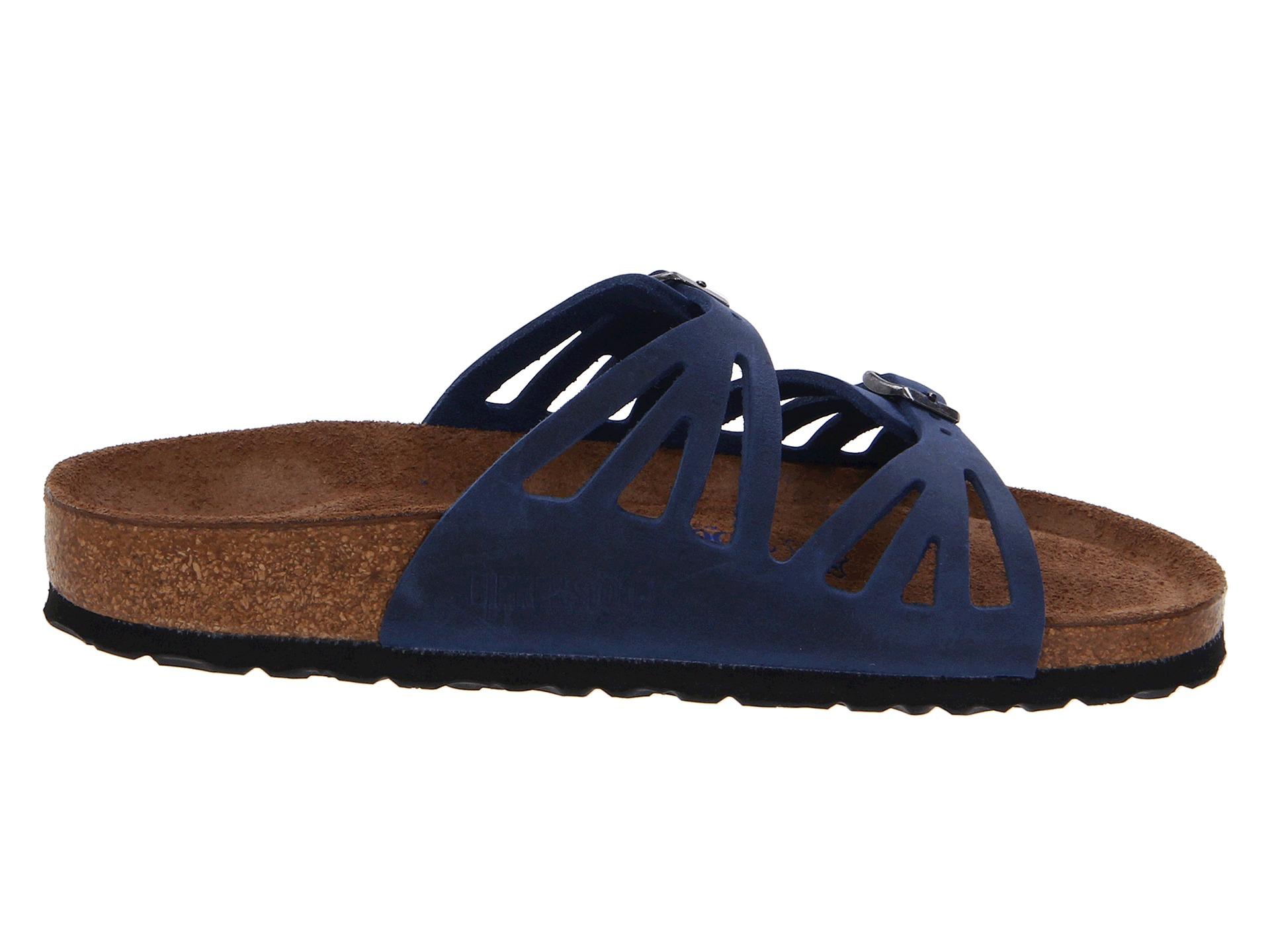 Birkenstock Granada Soft Footbed Twilight Blue Oiled Leather | Shipped Free at Zappos