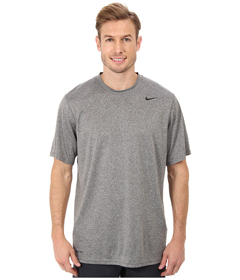 Best Price Nike Legend Dri Fit Poly S S Crew Top Carbon Heather Best ... 0ade7a65e98c