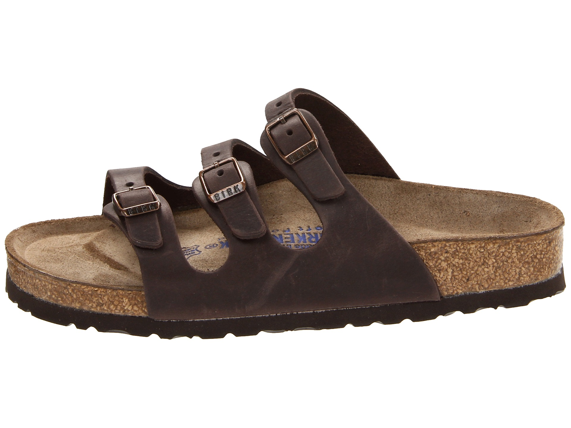 a475f70237d9 Birkenstock Florida Soft Footbed Leather Habana Oiled Leather on ...