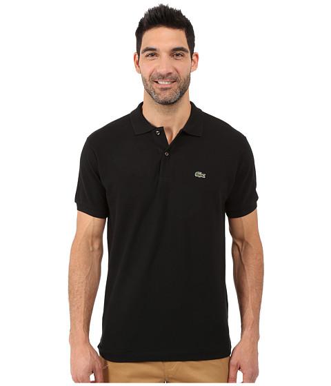 5bcc8a24c Cheap Lacoste Classic Pique Polo Shirt Black Online