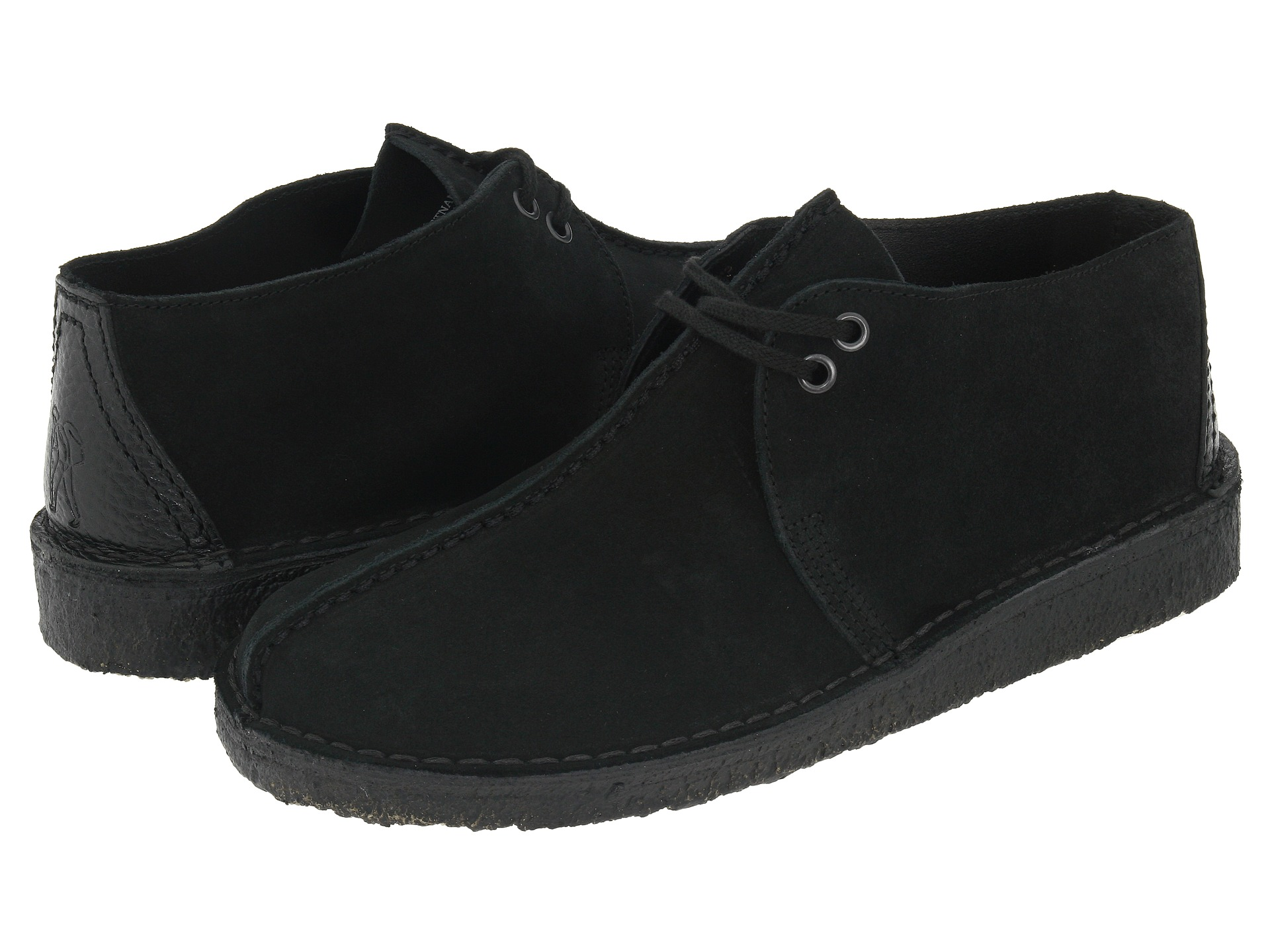 Clarks Girls Black Shoes