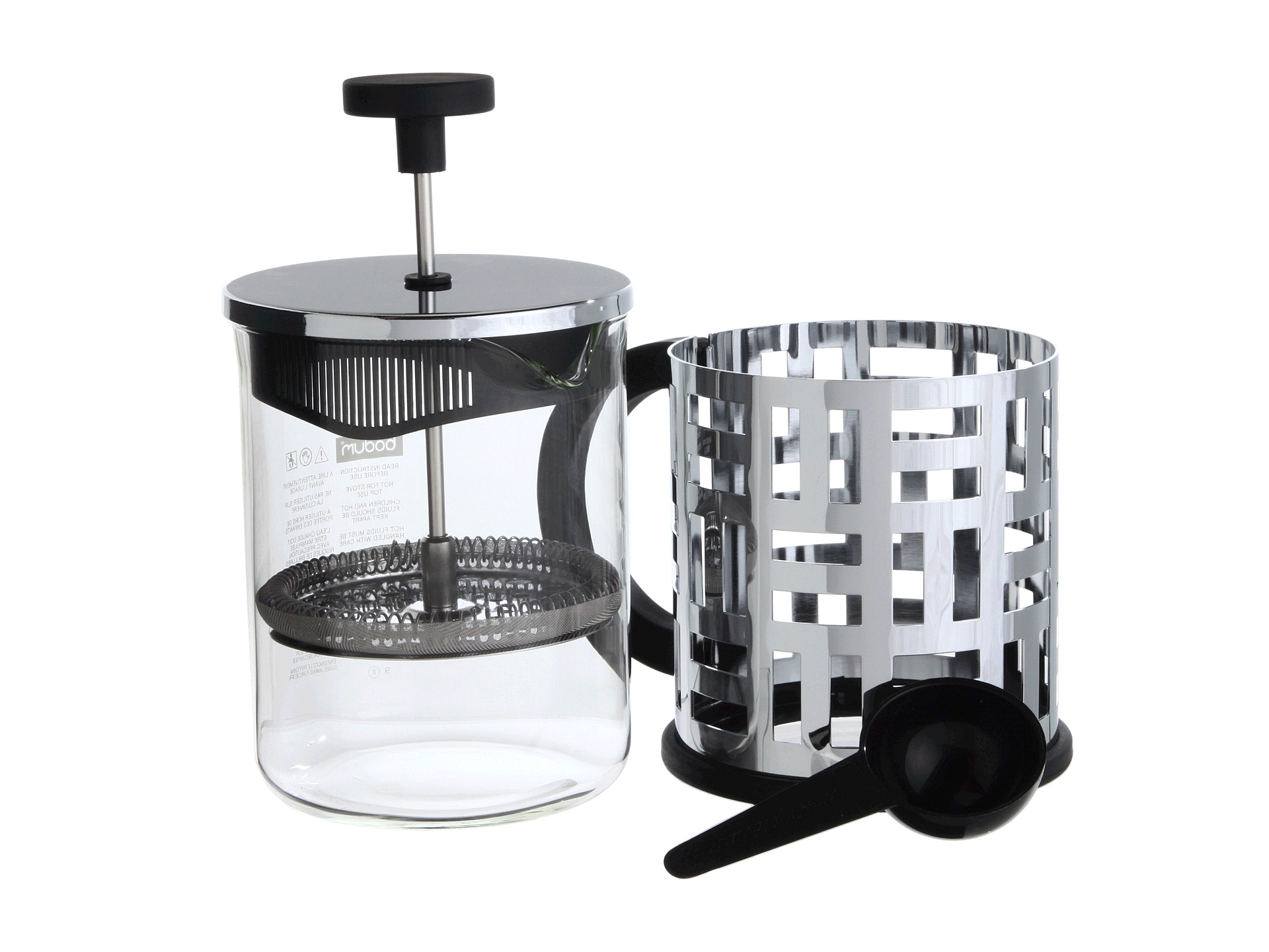 bodum eileen french press coffee maker 4 cup shipped free at zappos. Black Bedroom Furniture Sets. Home Design Ideas
