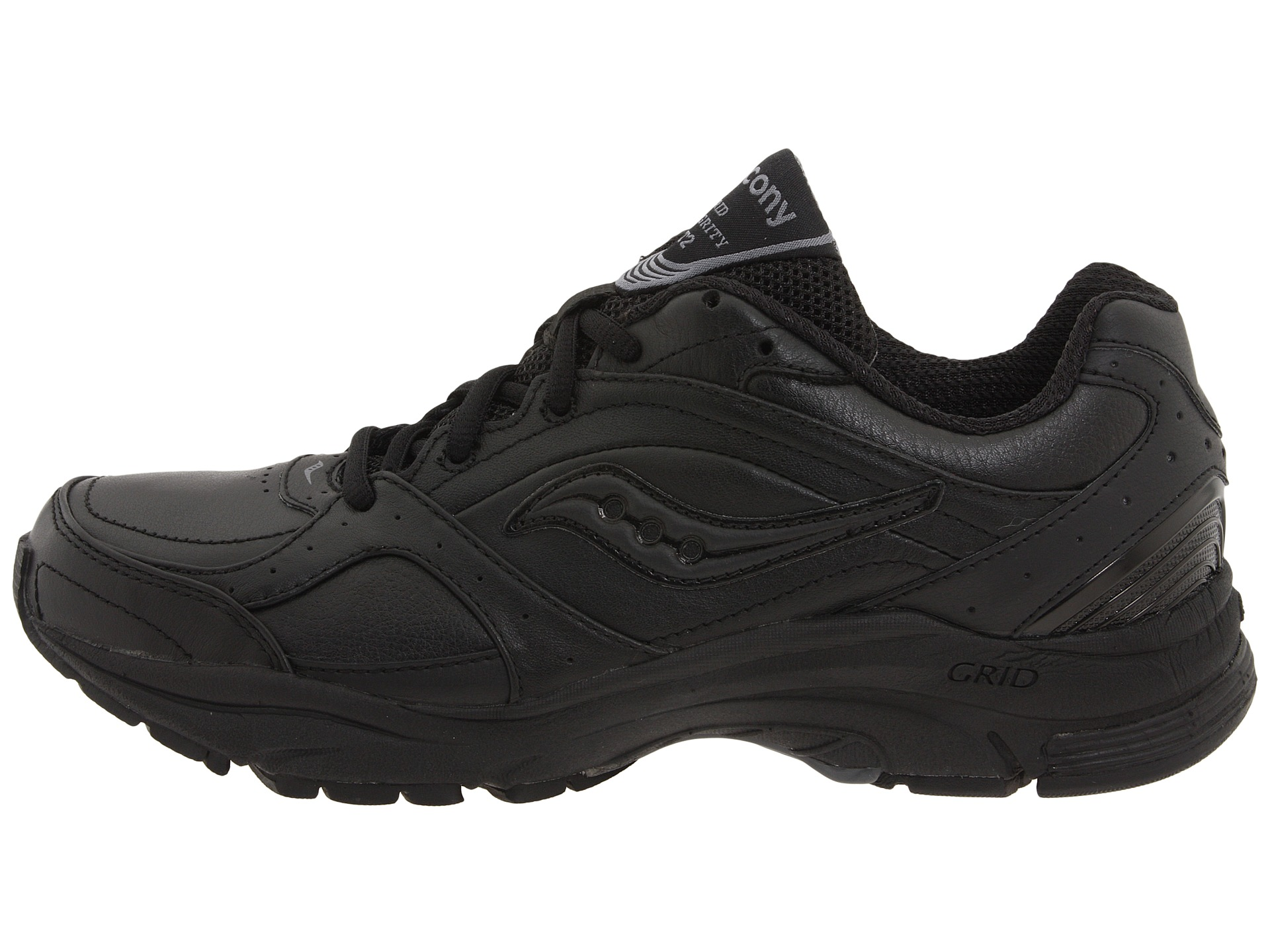 Saucony Black Walking Shoes