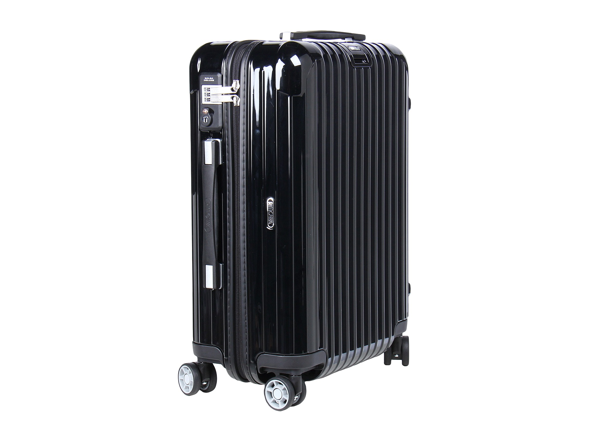 rimowa salsa deluxe cabin multiwheel iata black free shipping both ways. Black Bedroom Furniture Sets. Home Design Ideas