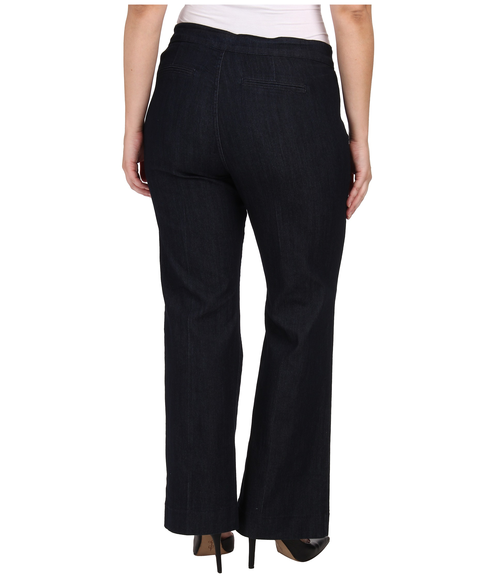 plus size jeans & trousers Stock up on essential plus size jeans and trousers in flattering styles and shapes. Printed trousers, smart office-ready styles and stretch leggings are ideal for an for your autumn/winter wardrobe.