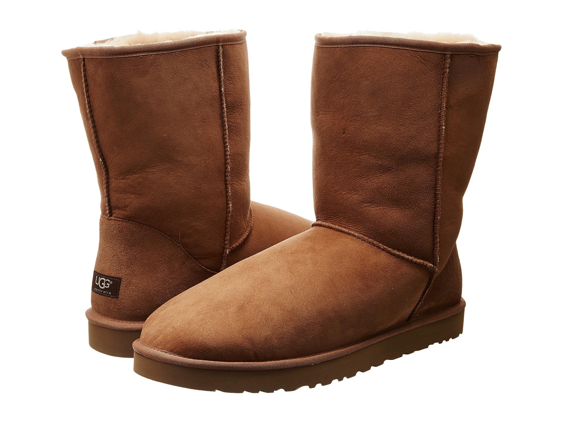 sheepskin boots mens chestnut ugg boots ugg classic short boots. Black Bedroom Furniture Sets. Home Design Ideas