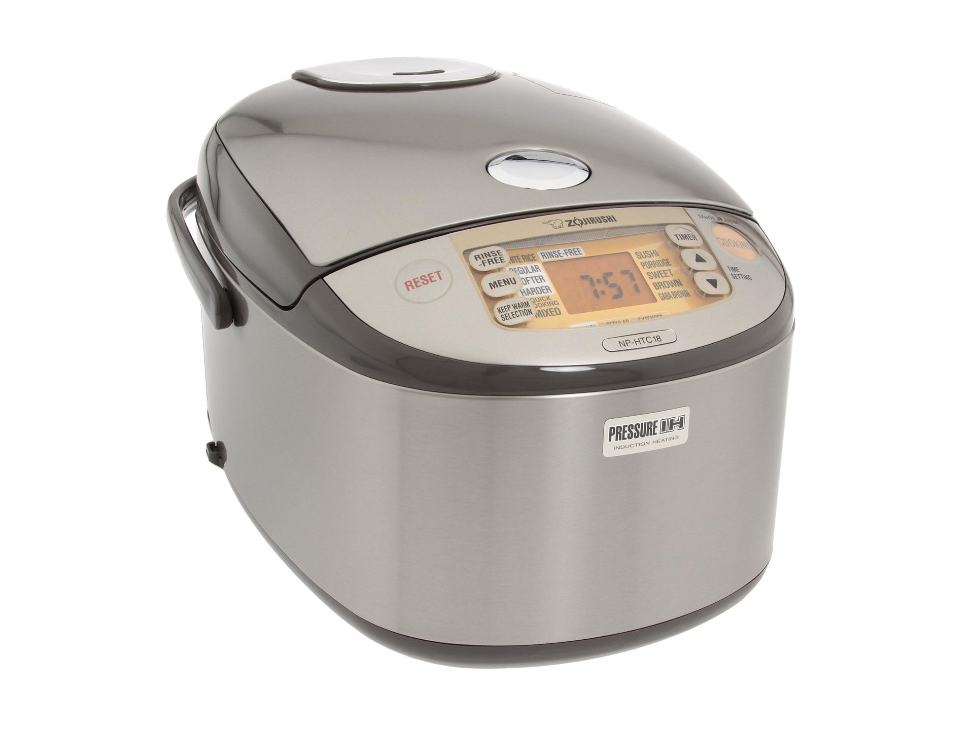 Zojirushi Induction Heating Rice Cooker Zojirushi NP HTC18XJ Induction Heating Pressure 10 Cup ...