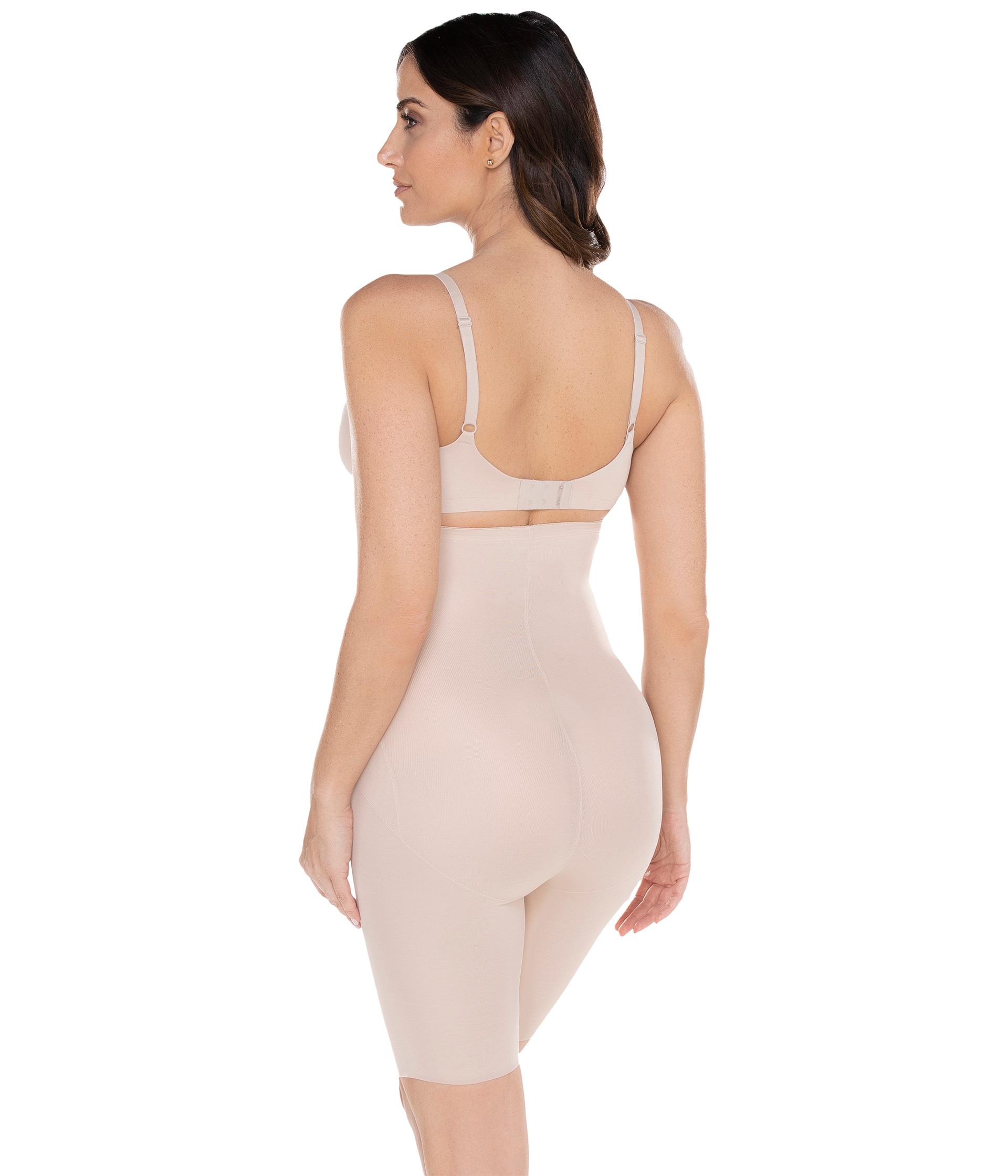 7c26d997cb Miraclesuit Shapewear Extra Firm Shape with an Edge Hi Waist Long Leg Nude