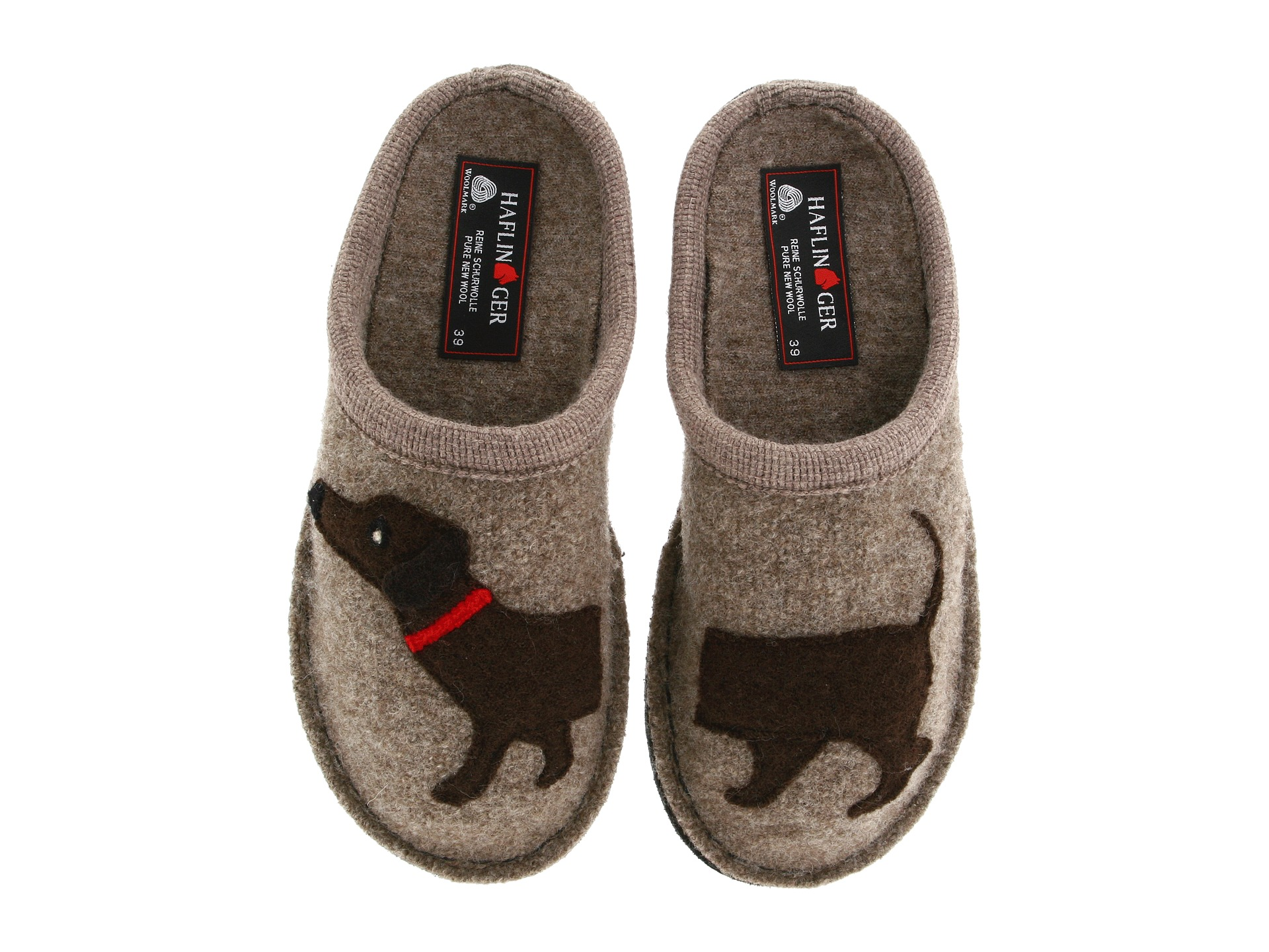 Slippers | Indoor Shoes Protect your dog's paws inside the house. There is nothing more adorable than dogs wearing slippers. Cuteness aside, your dog's paws can get cold just like our feet get cold on a winter day, especially if your house has hardwood or tile floors.