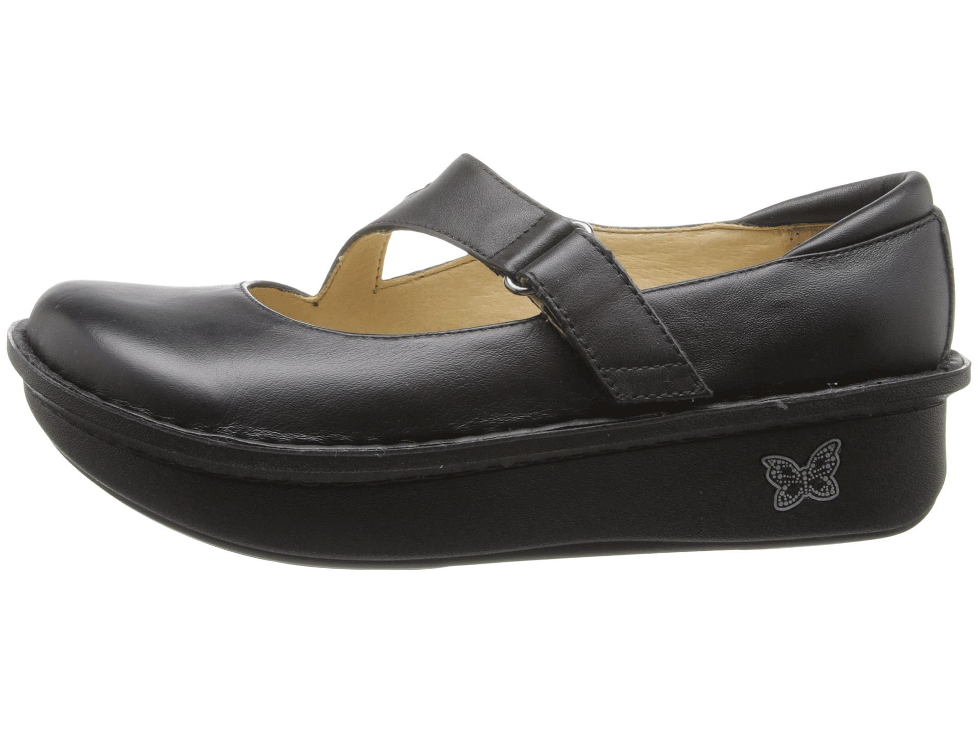 Alegria Nursing Shoes Size Chart