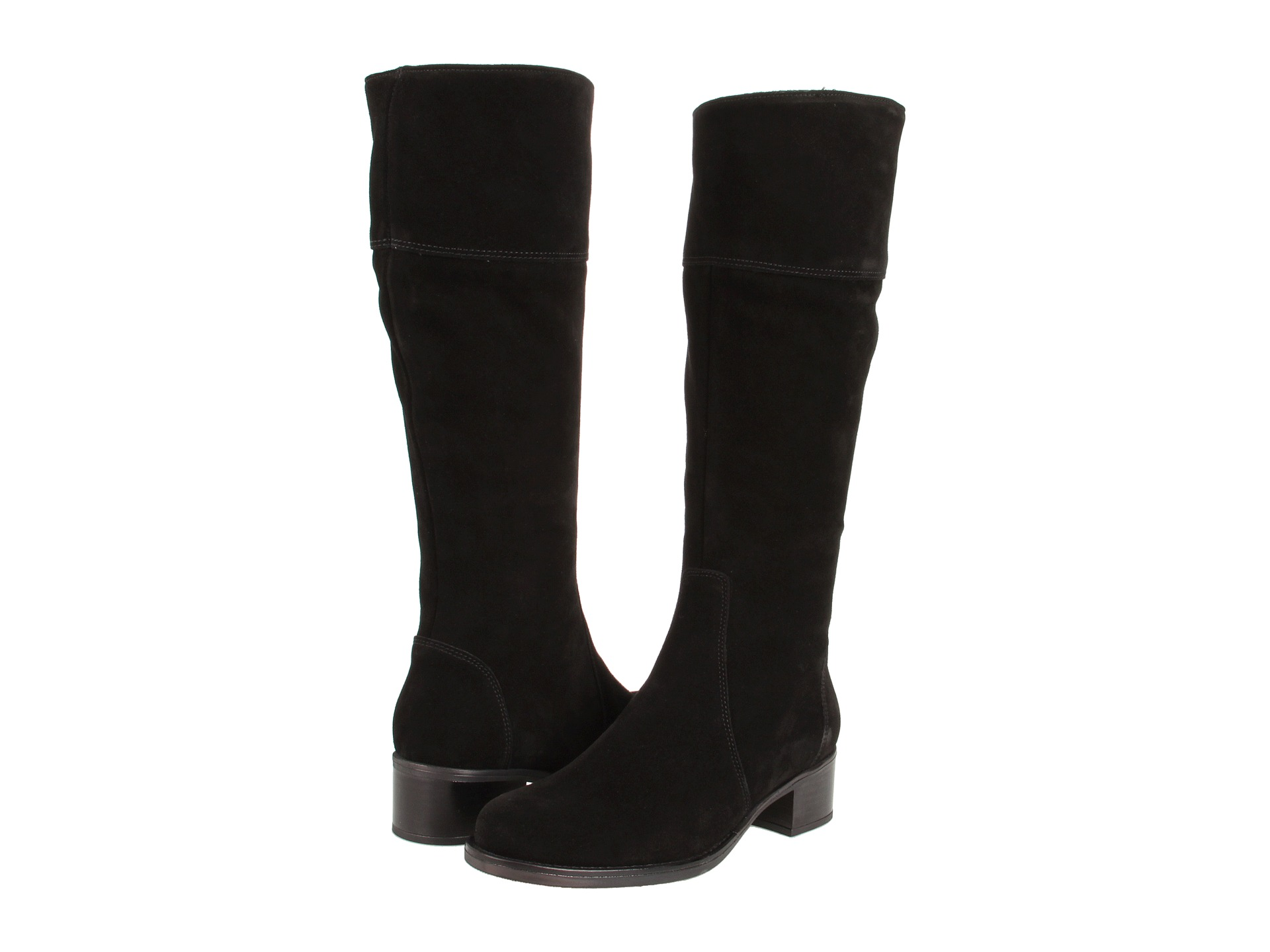 Black Suede Boots For Women Coltford Boots