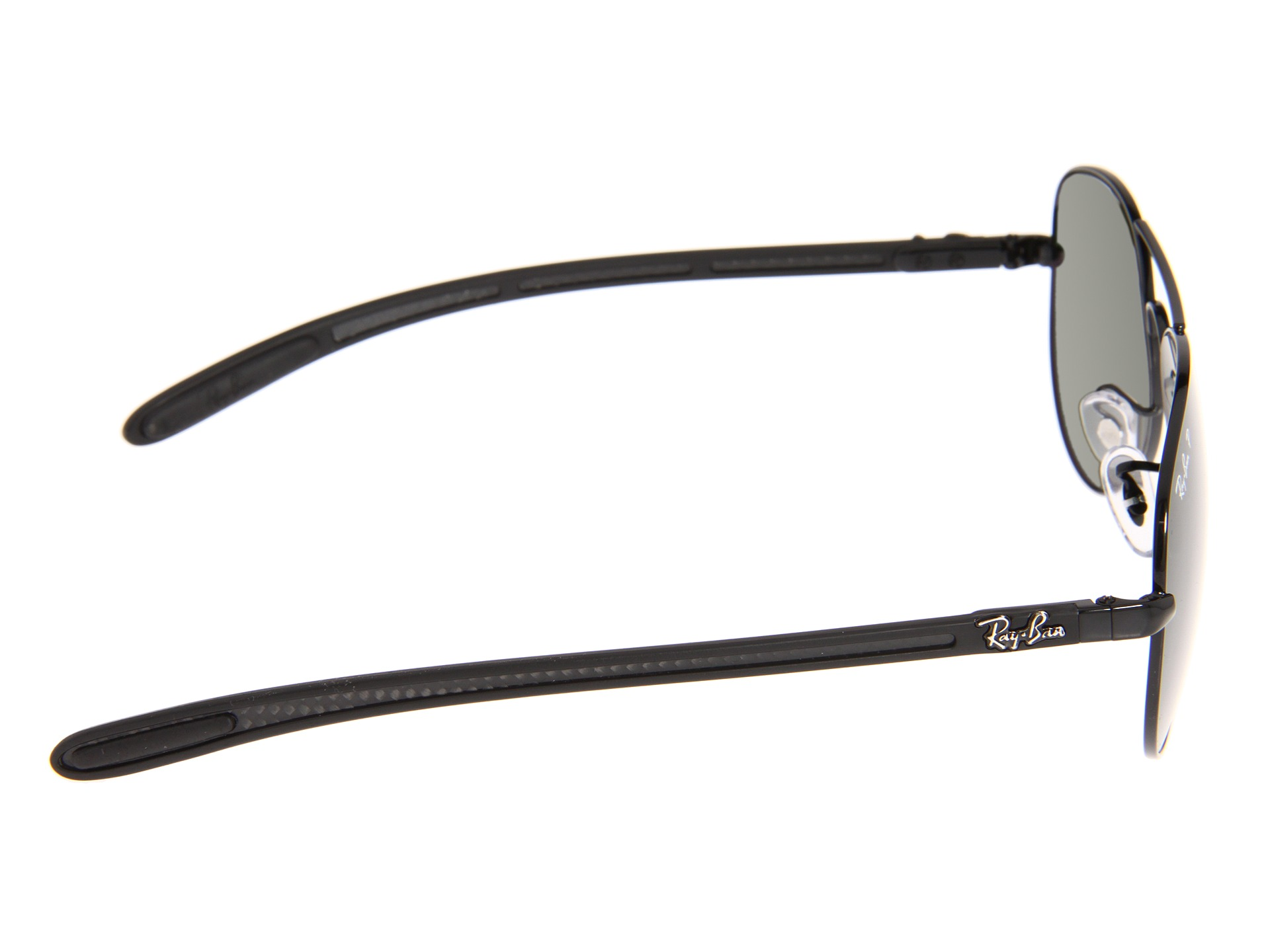 811b1f3fca3 Ray Ban Rb8302 Tech Sunglasses Black Frame Crystal Green Polar ...