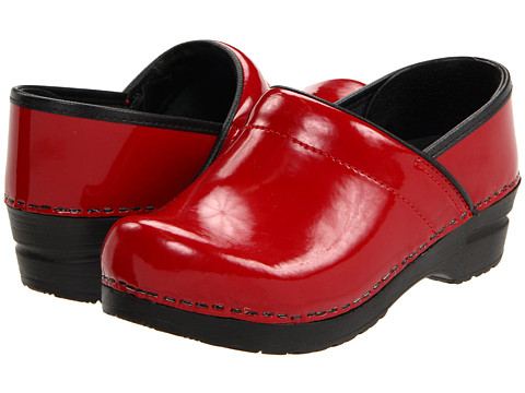 Red Box Leather Shoes Sanita
