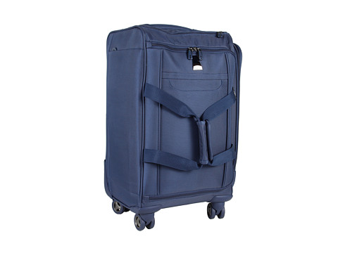 delsey helium xpert lite 4 wheel carry on duffel blue shipped free at zappos. Black Bedroom Furniture Sets. Home Design Ideas