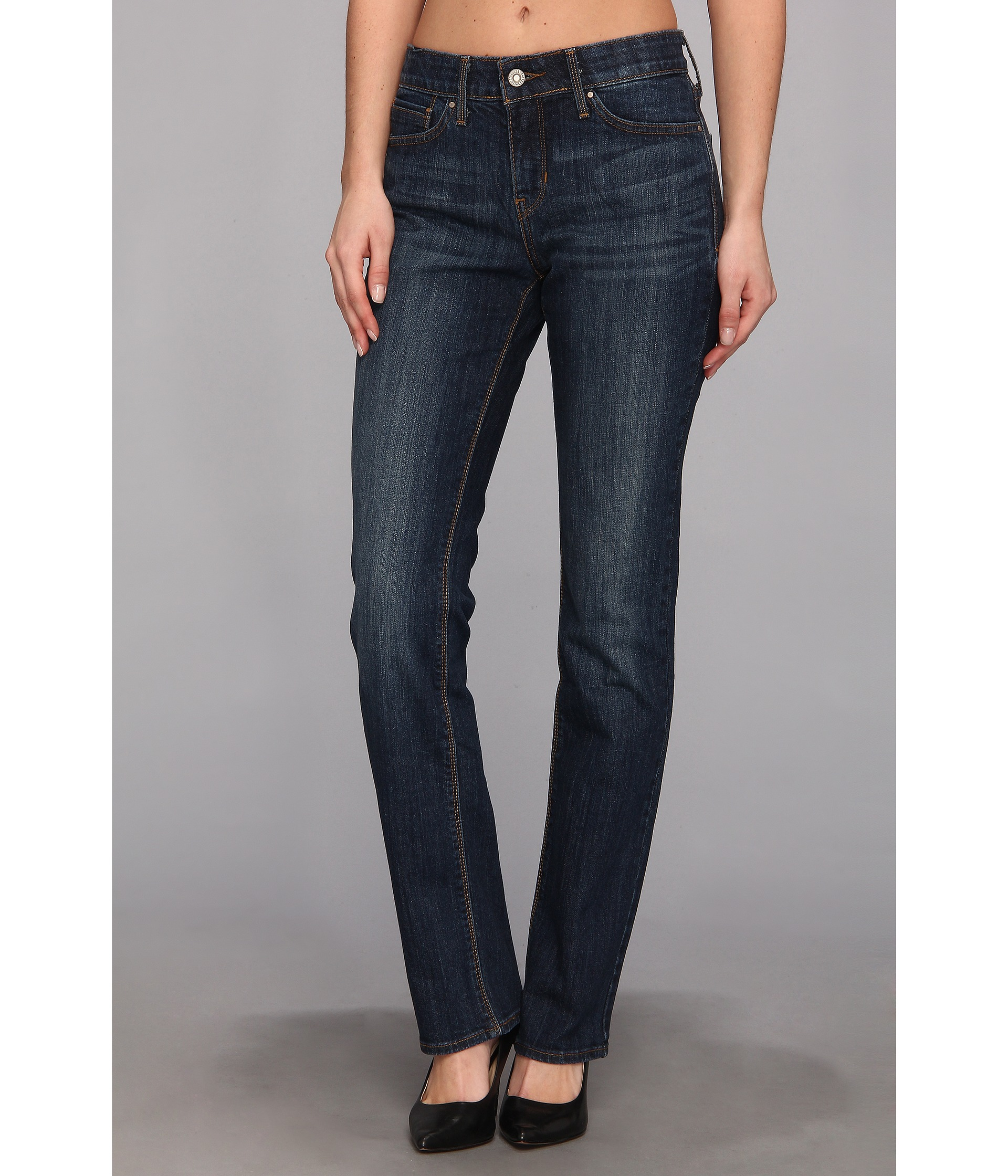 The Perfect Jean Specially formulated to fit, contour, and lengthen your silhouette, the Perfect Jean applies iconic design elements to superior denim fabrication for an elevated look and tailored feel.