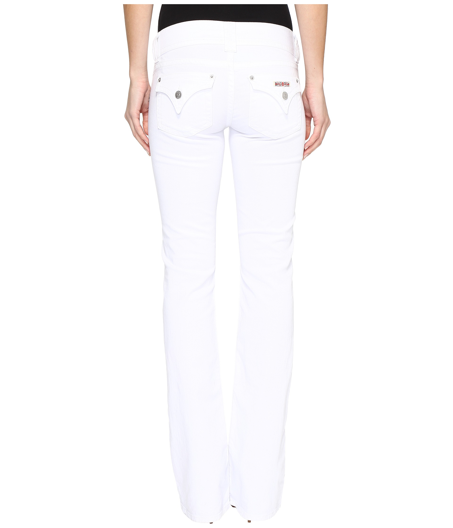 Womens White Bootcut Jeans