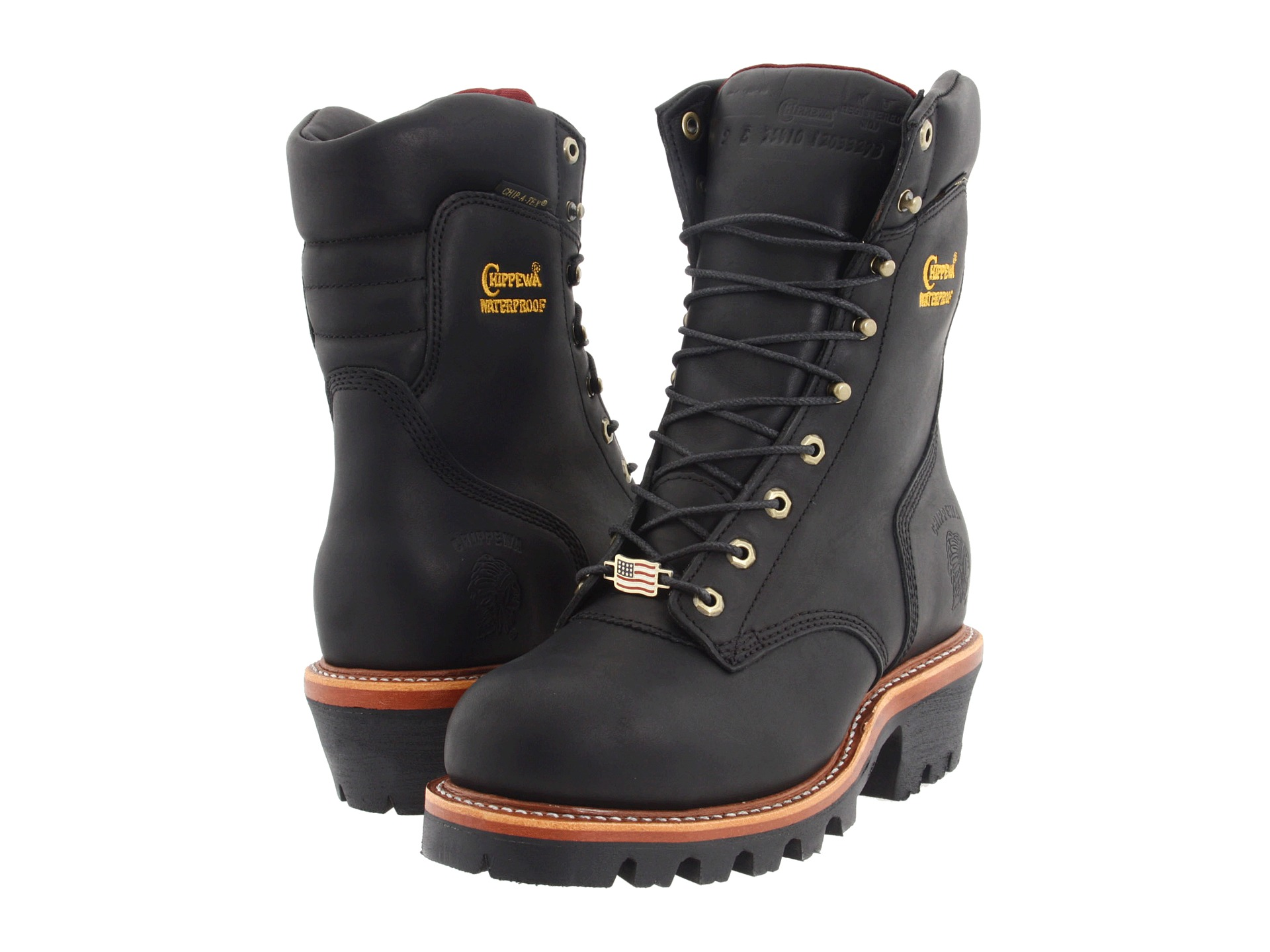 Chippewa 9 Quot Waterproof Insulated Super Logger Zappos Com