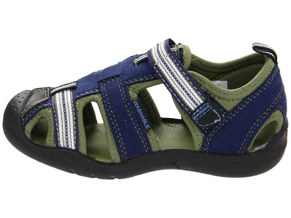 5430f10cb5a3 pediped Sahara Flex Toddler Little Kid Boys Sandals