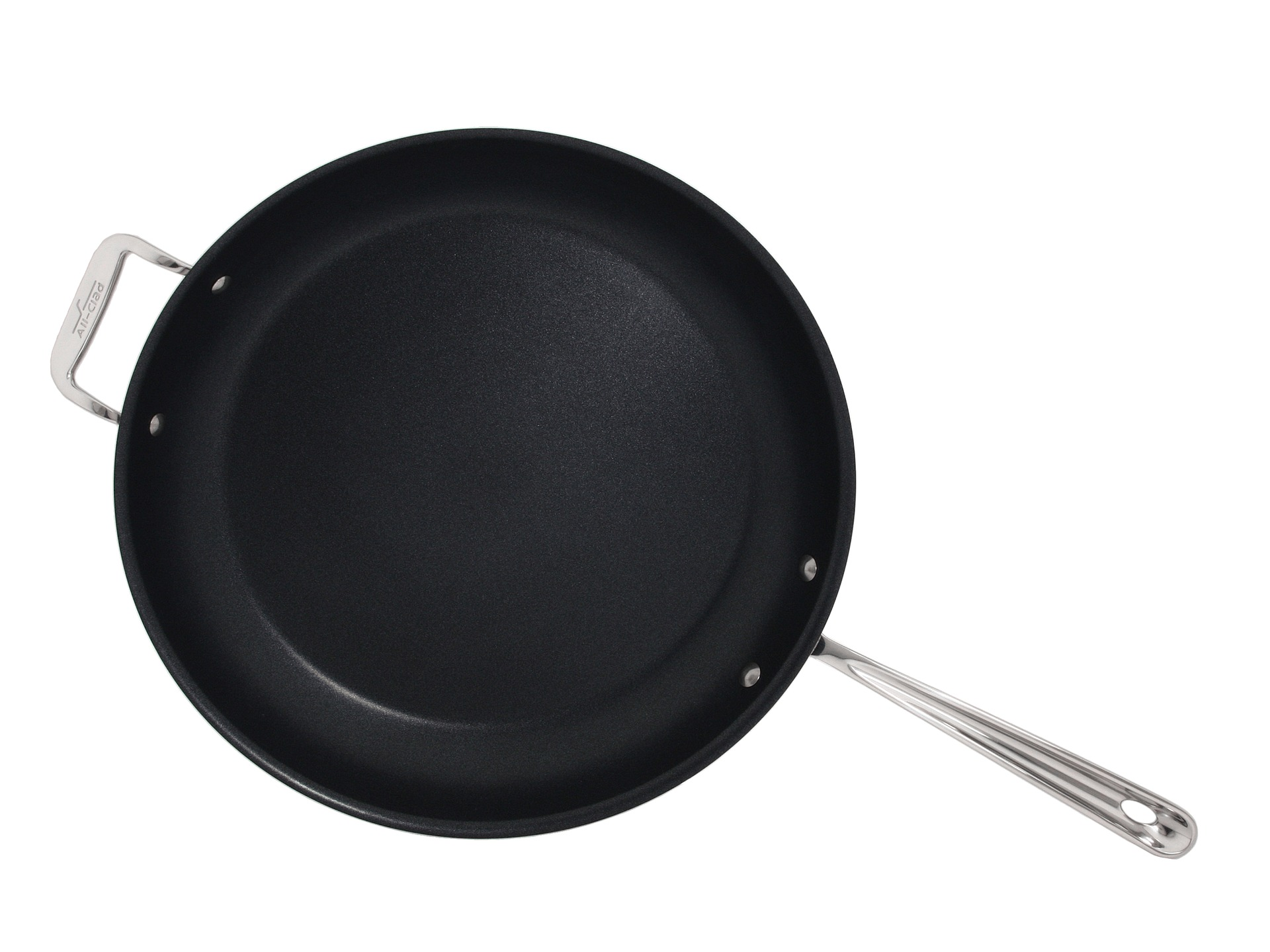 All Clad Stainless Steel Non Stick 14 Fry Pan Shipped