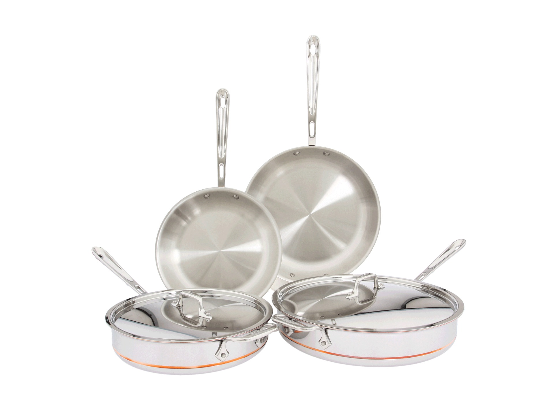 All Clad Copper Core 14 Piece Cookware Set Shipped Free