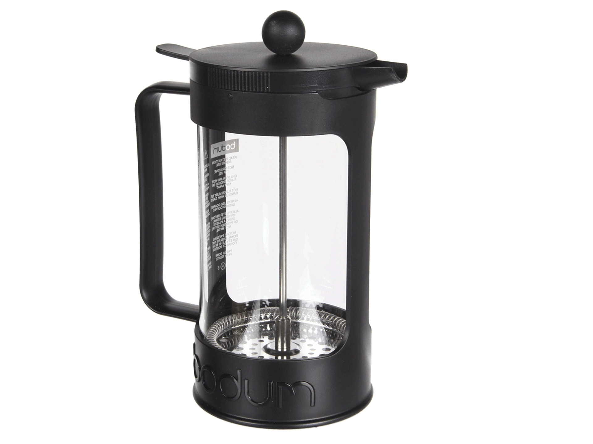 bodum bean french press coffee maker 34 oz shipped free at zappos. Black Bedroom Furniture Sets. Home Design Ideas