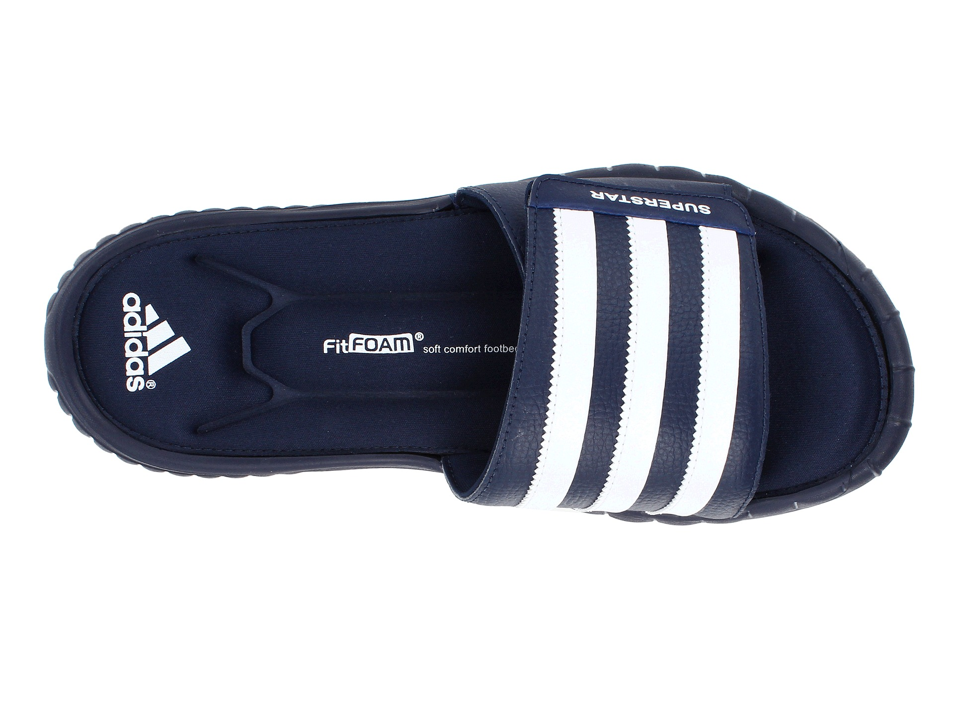 detailed look 85fad 33dc9 adidas fitfoam slides