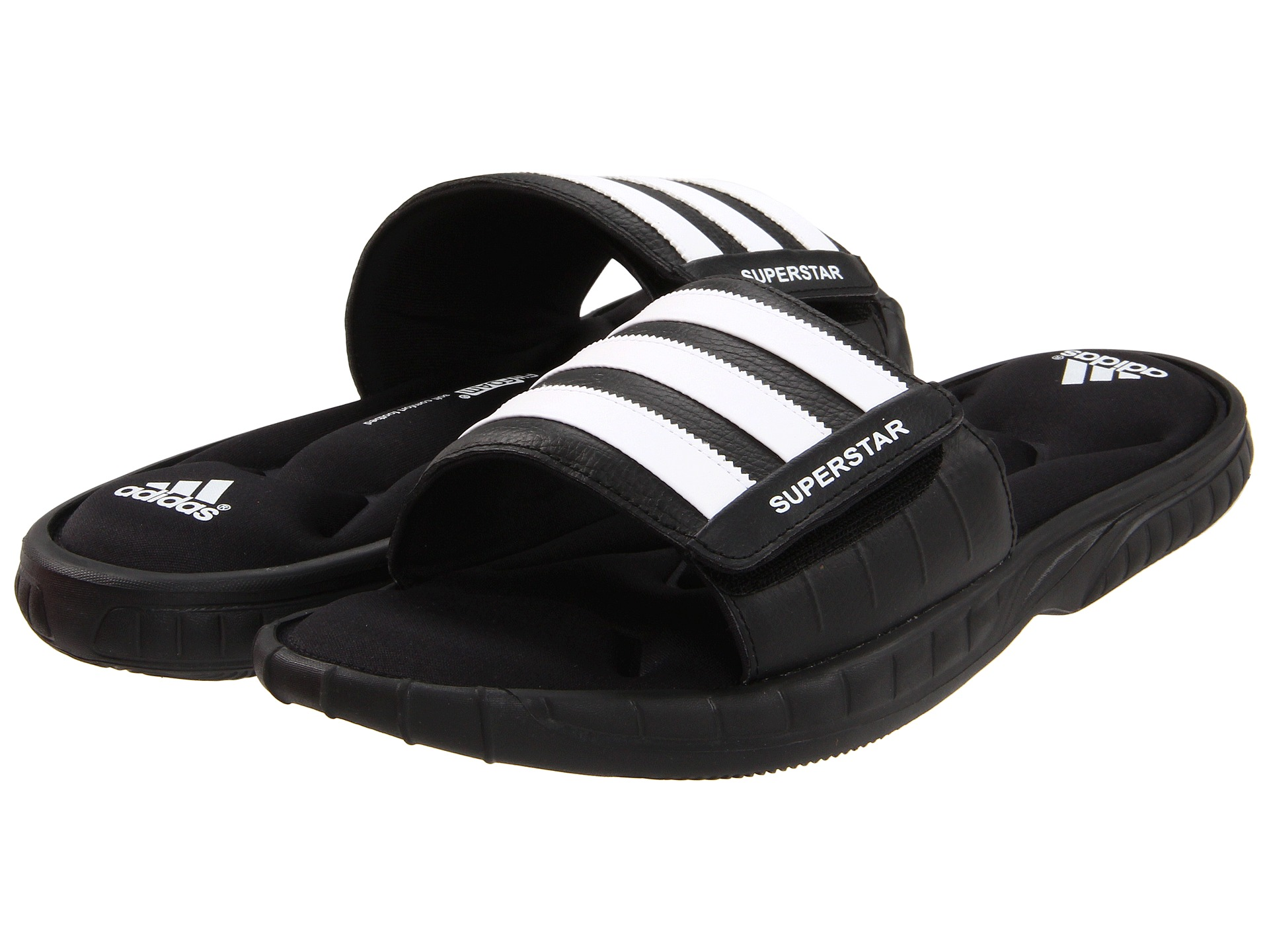 adidas Superstar 3G Slide White Black Black on PopScreen d17d750c4