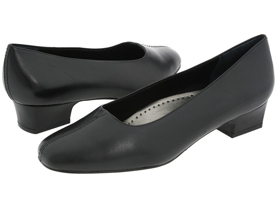 Womens Extra Wide Black Dress Shoes