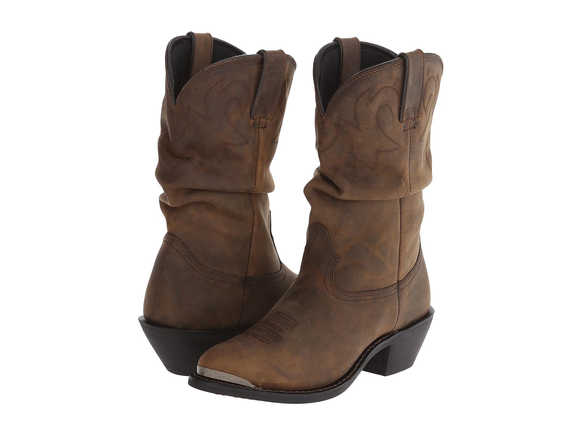 Mens Slouch Boots Tsaa Heel