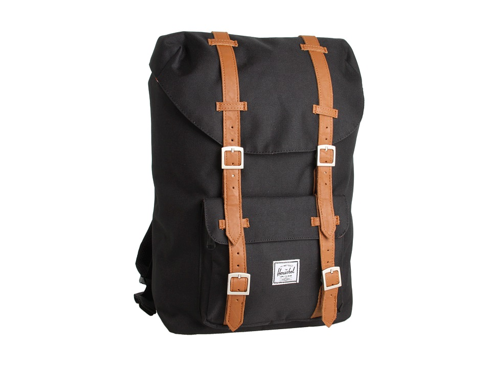 fd34ccd416 Tagspire - Herschel Supply Co. Little America Mid-Volume (Black) Backpack  Bags