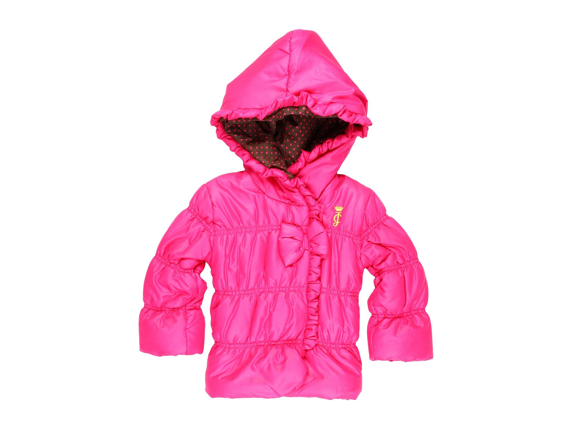 168754de95c6 Juicy Couture Kids Bow Puffer Coat (Infant) on PopScreen