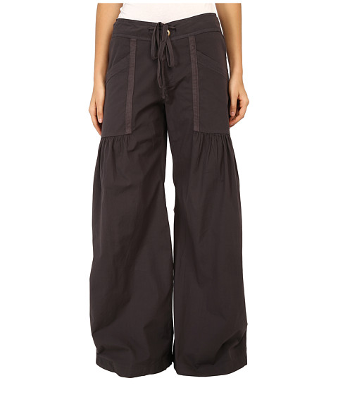 Eileen Fisher Wide-Leg Stretch-Crepe Pants, Petite Details Eileen Fisher bi-stretch crepe pants with elegant day-to-night texture and remarkable fit memory, great for travel.
