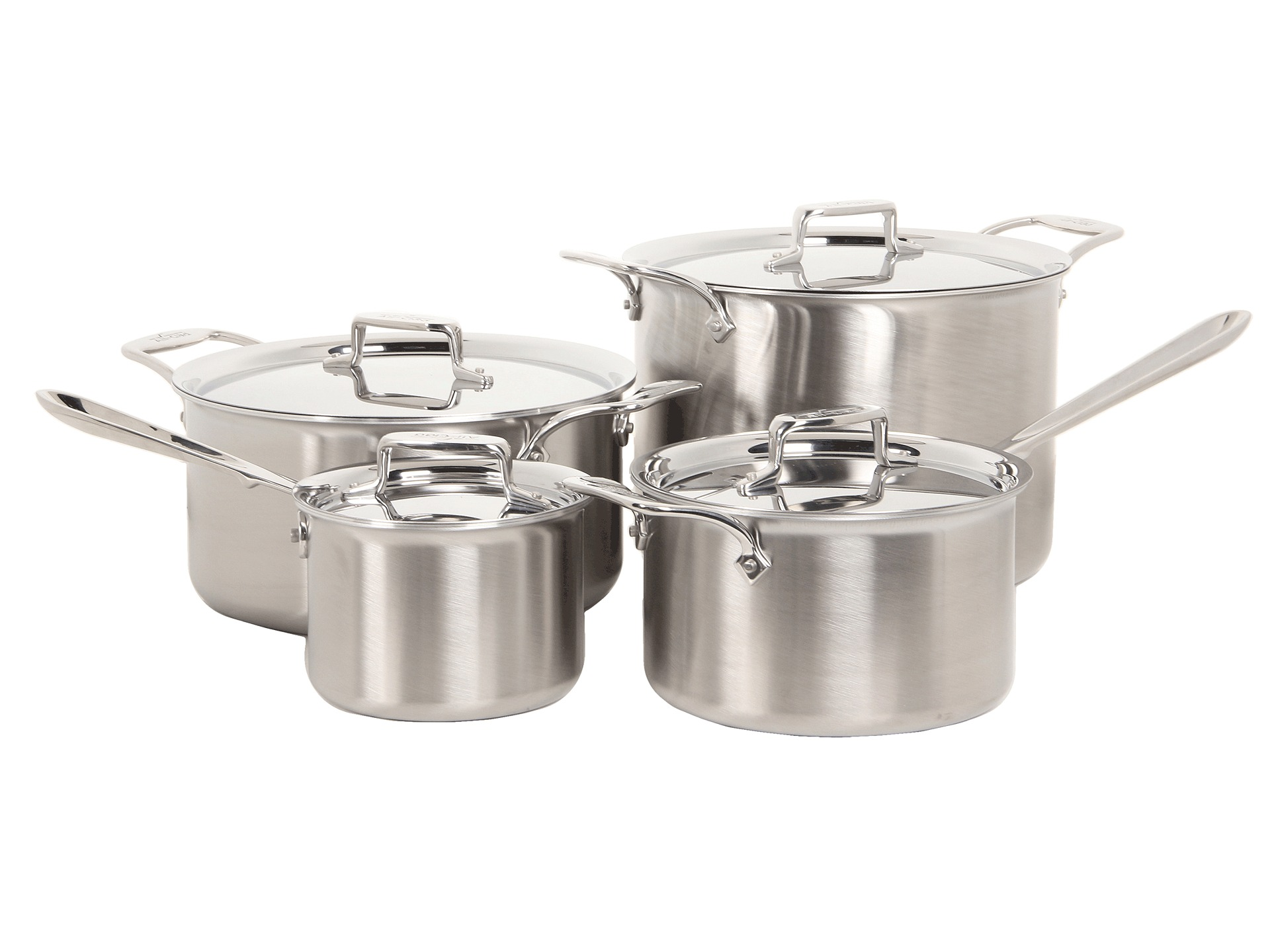 All Clad D5 Brushed 14 Piece Set Shipped Free At Zappos
