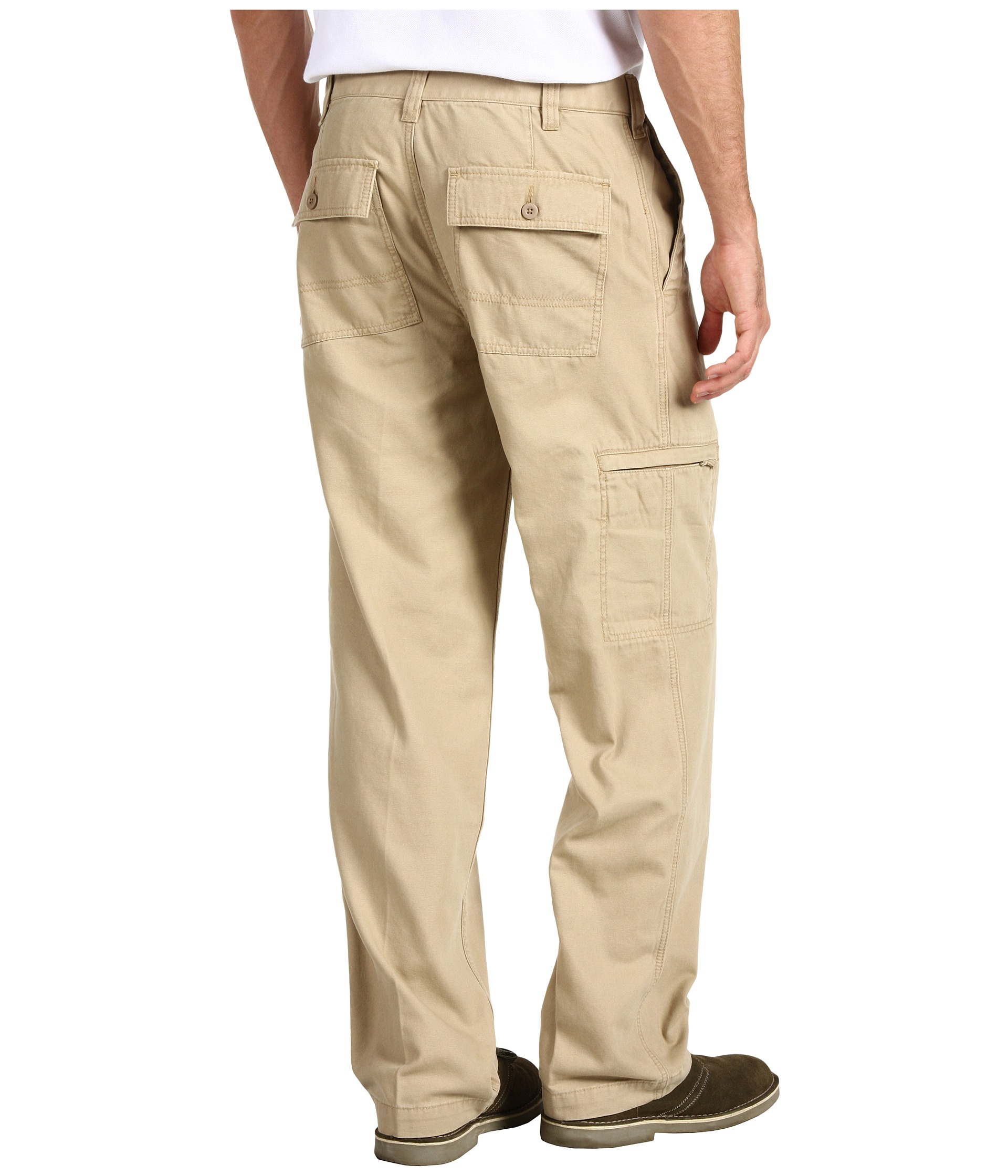 Dockers Mens Comfort Cargo D3 Classic Fit Zapposcom