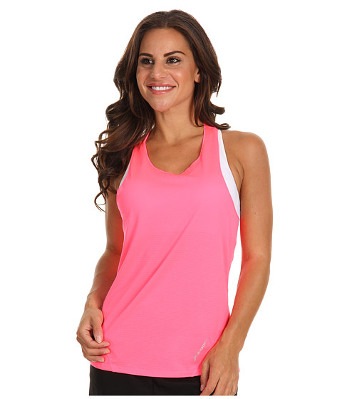 f53e1516ce0 Race Day Singlet Brite Pink