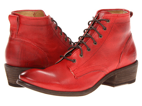 1203b9cfe21 Frye Carson Lace Up Burnt Red Antique Soft Leather - Stylish Boots ...